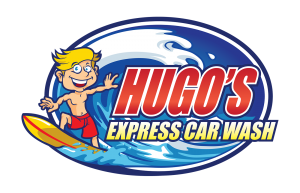 Hugo's Express Car Wash: Logo