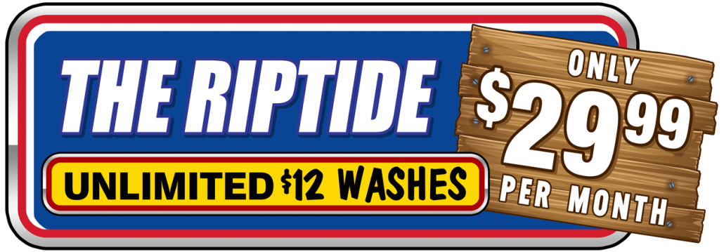 Hugo's Express Car Wash: The Riptide Unlimited $12 Washes for $29.99 per month